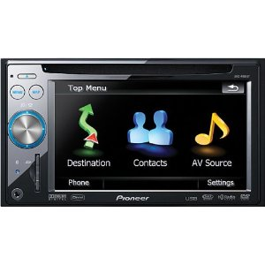 Pioneer AVIC-F900BT In-Dash Navigation Audio/Video Receiver with DVD Playback and Advance Voice Controls