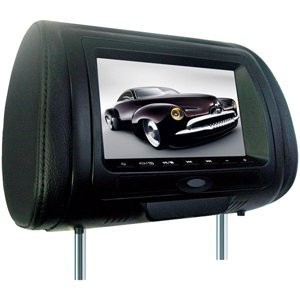 Concept CLS-700 7-Inch Chameleon Headrest Monitor with Color Covers