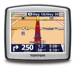 TomTom ONE 130 3.5-Inch Portable GPS Navigator  (Box Version)