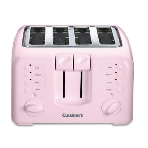 Cuisinart CPT-140PK Electronic Cool-Touch 4-Slice Toaster, Pink