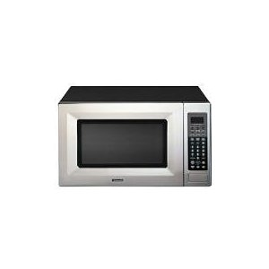 Kenmore Elite Stainless Steel w/Black 2.0 cu. ft. Countertop Microwave with Sensor Cooking Controls 66463