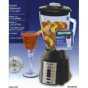 Oster 8 Speed Ice Crushing Blender - Black