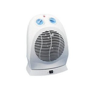 Heat Runner 33551 Light Gray Portable Heater with Four Settings, 8 3/4