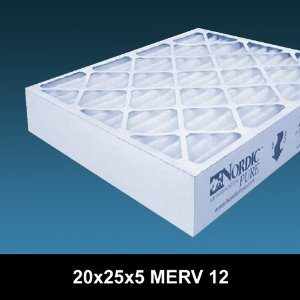 20x25x5 Merv 12 Honeywell Replacement Air Cleaner Furnace Filter