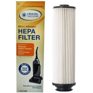 Hoover Windtunnel Upright HEPA Filter; Long-Life WASHABLE, REUSABLE and TRUE HEPA, Compare With Hoover Part # 40140201, 43611-042