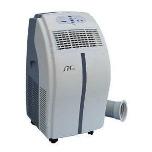 SPT WA-1010H 10,000-BTU Portable Air Conditioner with Remote-Control Cooling and Heating