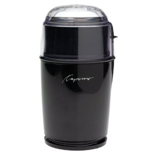 Capresso 501 Cool Grind Coffee Grinder, Black