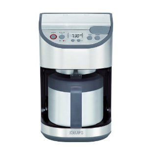 Krups KT4065 10-Cup Thermal Coffeemaker