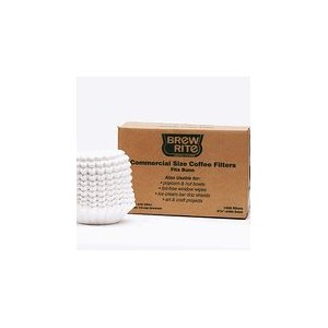 Brew Rite Commerical Size Coffee Filters 1,000 Filters