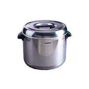 Zojirushi RDS-400 4-Liter Thermal Rice Warmer, Stainless Steel