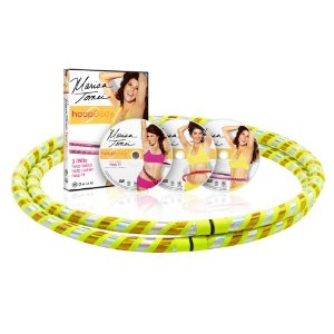 Gaiam Marisa Tomei HoopBody Hoop and DVD Kit