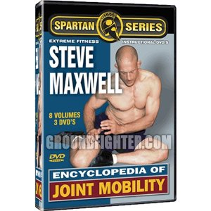 Encyclopedia of Joint Mobility Starring Steve Maxwell, 8 Volumes of Instruction on 3 DVD's
