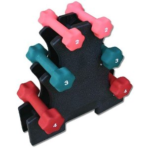18 Lb. Neoprene Dumbbell Set