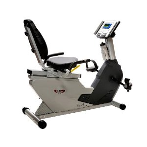 Lifecore LC-850RB Ultra Compact Recumbent Exercise Bike