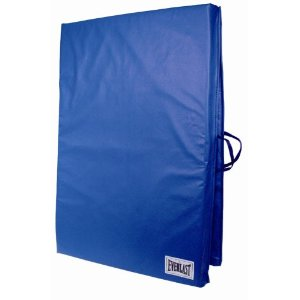 Everlast Folding Exercise Mat 72-Inch by 24-Inch (Blue)