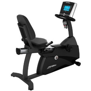 Life Fitness R1 Recumbent LifeCycle with Advanced Console