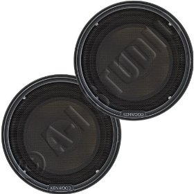 KENWOOD KFC-P508 5.25-Inch High Performance Component Speaker Package