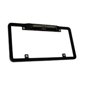 Boyo Rear View License Plate Camera VLT300(Zinc Metal Black)