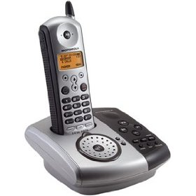 Motorola Digital Cordless Phone MD761 - Cordless phone w/ call waiting caller ID & answering system - 5.8 GHz