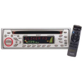 Legacy LCD95MP3 AM/FM Reciever CD/MP3 Player w/Die-Cast Aluminum Face