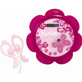 Barbie Tune Blossom BAR100 Personal CD-R/RW Player