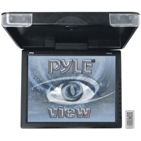 PYLE PLVWR1542 15-Inch High Resolution TFT Roof Mount Monitor and IR Transmitter