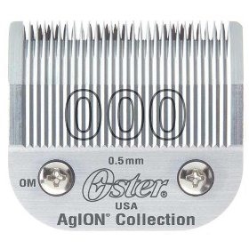 Oster AgION clipper blade size 000 Very Close.