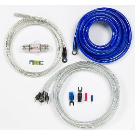 StreetWires PSK04BSi Power Station Amp Kit - Power / audio cable kit - 4 AWG - blue