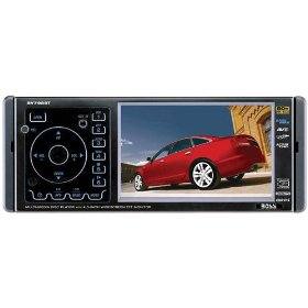 Boss BV7986 4.5-Inch Widescreen Touchscreen TFT Monitor/DVD/MP3/CD Receiver