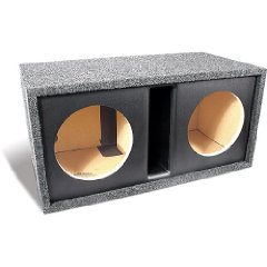 Bass Slammer BS210V Ported enclosure for dual 10