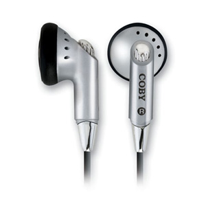 Coby cve05 headphone in ear type hifi digital