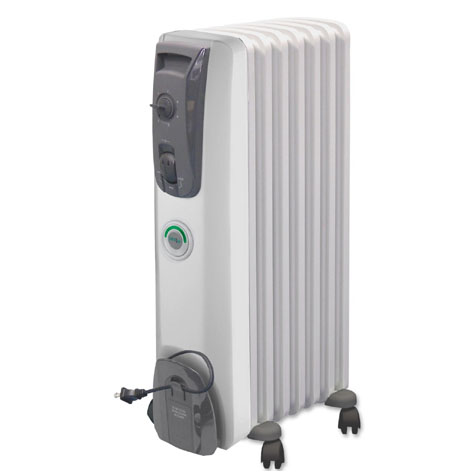 Delonghi mg7307cm radiator oil filled portable temp 1500w