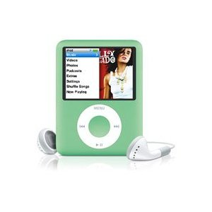 Apple iPod nano 8 GB Green, Clamshell Package (3rd Generation) OLD MODEL