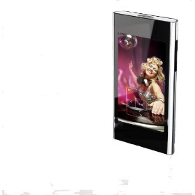Coby 4 GB Flash MP3 Player with 3-Inch Color LCD, FM and Touch Screen Control (Black)