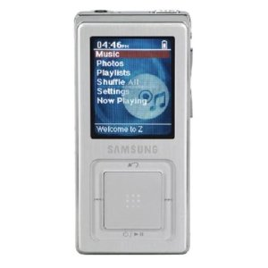 Samsung YP-Z5AS 4 GB Digital Audio Player (Silver)