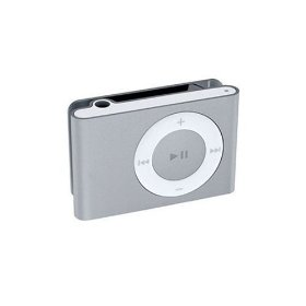 Apple iPod shuffle - Digital player - flash 1 GB - AAC, MP3 - silver