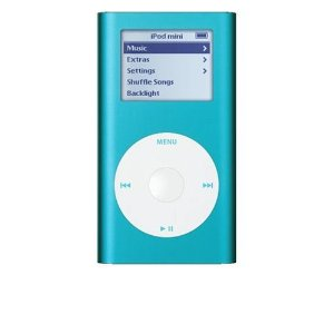 IPod Apple Mini 6 GB Blue