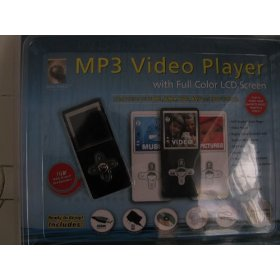 MP3 Video Player with Full Screen LCD Screen