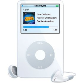 Apple iPod� 30GB Digital music/photo/video player White