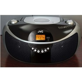 Jvc rdez11 boombox cd mp3 input acdc