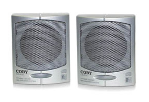 Coby csp31 speaker personal 3inch stereo
