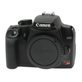 Canon EOS Rebel XS 10.1-Megapixel Digital SLR Camera - Black (Body Only)