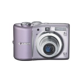 Canon PowerShot A1100IS 12.1 MP Digital Camera with 4x Optical Image Stabilized Zoom and 2.5-inch LCD (Pink)
