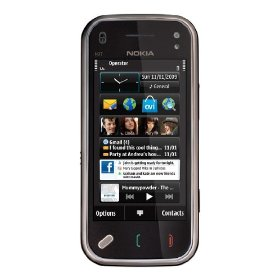 Nokia N97 mini 8 GB Unlocked Phone, Free GPS with Voice Navigation and Multimedia Functions--U.S. Version with Full U.S. Warranty (Black)
