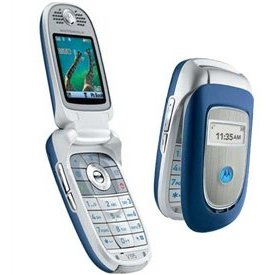Motorola V195 Unlocked Phone with Bluetooth, GPRS, and Bluetooth--International Version with Warranty