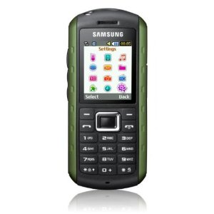 Unlocked Samsung Xplorer B2100 SGH-B2100 Solid Extreme Anti-Shock Waterproof Quad-Band Phone Green -International version with Embedded Flashlight