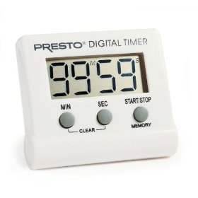 Presto 04213 electronic timer digital