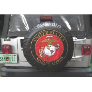 USMC Marines Spare Tire Cover 28