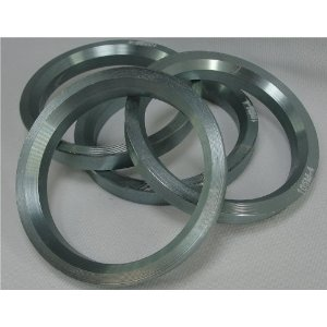 Hub Centric Rings 73.00 - 60.06 Aluminum Hubcentric