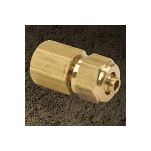 VIAIR VIAIR-92838 Compression Fitting .125 Inch Female NPT To .25 Inch Air Line